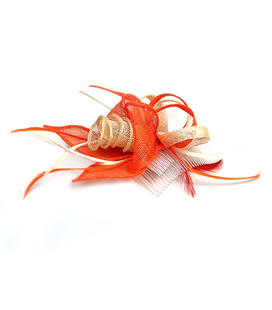 tocado-beig-y-naranja-fiesta