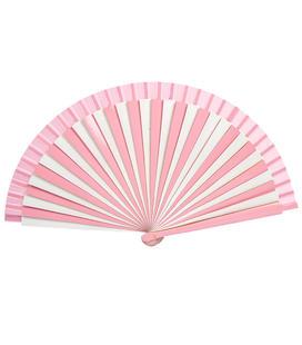 abanico-rosa-de-rayas